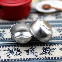 3pcs 1:12 Dollhouse Miniature Iron Bowl Kitchen Tableware Toy Accessories Gift