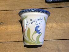 tres joli Pot ancien  Miel d'Auvergne , chocolat de Royat , Charolles