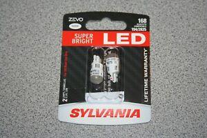 Sylvania ZEVO LED 168 Pair Set LED Lamps Bulbs 194/2825 NEW