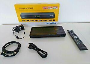 TechniSat TechniStar K2 ISIO sw HDTV-Kabelreceiver - Schwarz  | gebraucht