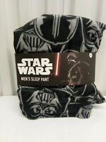 Star Wars Men's Sleep Pant Darth Vader Size Large Black New