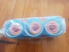 MESH HAIR ROLLERS set of 9 total with small, medium and large