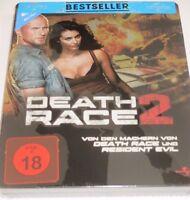 Death Race 2 - Blu-ray/NEU/Action/Luke Goss/Steelbook/FSK 18