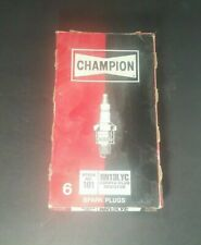 Champion Spark Plug Copper Plus Stock # 101 RN13LYC Box of 6 Plugs