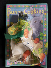Easter Bunny Rabbit Cookie Cutter and Cookie Mix with Directions Gift Set