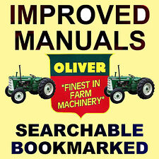 OLIVER Super Fleetline Tractors FACTORY SERVICE REPAIR MANUAL - IMPROVED on DVD