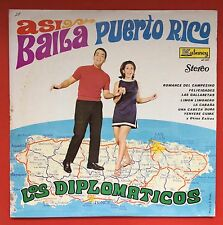 Los Diplomaticos Asi Canta Puerto Rico Romance Campesino KUBANEY Mint