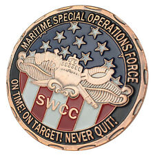US. Navy Special warfare combatant-craft crewmen (SWCC) Antique C-P Coin 5019#