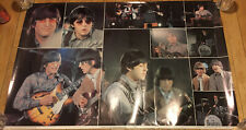 1981 BEATLES Poster PAUL McCARTNEY JOHN LENNON GEORGE HARRISON RINGO STARR