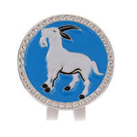 Alloy Creative Chinese Zodiac Goat Golf Hat Clip Magnetic with Ball Marker