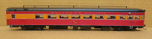 BROADWAY LIMITED 700 SP COAST DAYLIGHT 1953 NON-SKIRTED OBS LIGHTED DCC HO