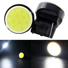 2Pcs T20 7440 7443 W21W COB LED Car Reverse Backup Light Stop White Lamps HQ