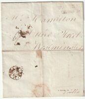 1787 MARCH LONDON EXPERIMENTAL BISHOPMARK WALTHAM CROSS 13 MILEAGE PMK WRAPPER