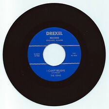 DOO WOP 45 THE GEMS I CAN'T BELIEVE ON DREXEL STRONG VG