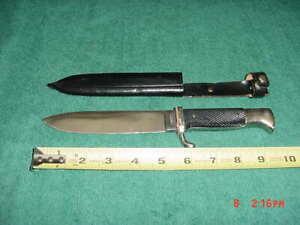 Vintage German Boy Scout Youth Knife Boot Dagger Solingen Western Germany