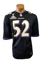 Baltimore RAVENS R LEWIS #52 Nike On Field Football Jersey Size L