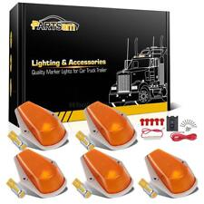 For Ford F-150/250/350 80-97 Super Duty Amber Cab Marker Lights+194 10-5730 LEDs