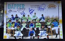 Horse Racing Jockeys Signed Poster 2015 Autographed Indiana Grand Shelbyville