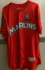 9bd42f810 GAME WORN AUTOGRAPHED JOSE FERNANDEZ MEMORIAL JERSEY - 2017 MIAMI MARLINS 1  of 1