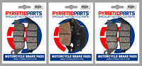 Front & Rear Brake Pads for Honda CBF600 04-09