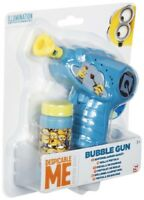MINION DAVE STUART BUBBLE GUN MACHINE SOLUTION KIDS TOYS MOVIE DISNEY MOVIE