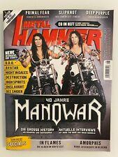 Metal Hammer ... 40 Jahre Manowar ... 2 Poster ... Amorphis ... 08/2020 ...