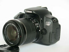 Canon EOS 700D SLR-Digitalkamera - Schwarz -Kit mit EF-S 18-55mm IS STM Objektiv