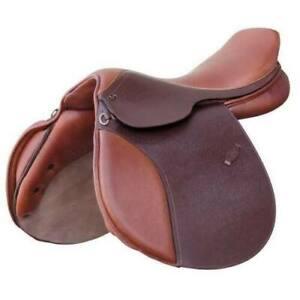 Details about  / Mini Pony Jumping   English Leather  Saddle