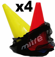 Mitre Set of 4 Mini Marker Cones Football Sport Etc Training Fitness Markers
