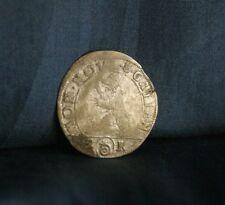 Switzerland 2 Kreuzer 1/2 Batzen 1730 Billon World Coin Saint Gall Swiss Bear