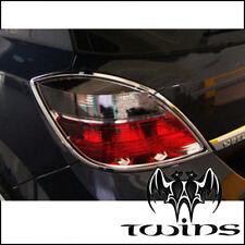 Contorno cromato fari Opel Astra H cornice cromata contorni fanali cromati