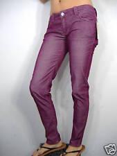 New Junior Womens 9 ROXY Bodacious Pants Jeans 33 W 31 L Purple Corduroy $55