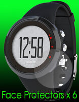 Suunto M2 watch face protector x 6 protection. Protect your watch from scratches