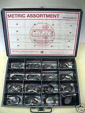 METRIC EXTERNAL RETAINING SNAP RING ASSORTMENT FOR SHAFTS 19-50mm DIN 471