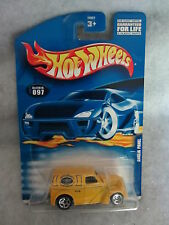 Hot Wheels    2001-097  Anglia Panel   Yellow   1:64 scale   (2)
