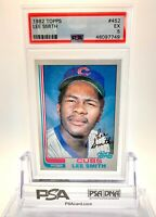 🔥 1982 Topps #452 Lee Smith PSA 5 RC Rookie HOF Chicago Cubs 🔥