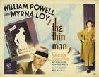 THE THIN MAN MOVIE POSTER William Powell RARE VINTAGE 2