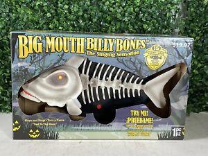 Big Mouth Billy Bones Bad to the Bone Lights Up Halloween Fish Skeleton NEW