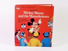 Disney Mickey Mouse Club MOUSEKETEERS ANIMAL GUESSING-GAME BOOK 1977 Whitman