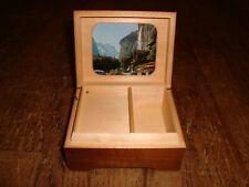 Vintage Swiss Music Box Reuge Doctor Zhivago Lara's Theme Switzerland Wood