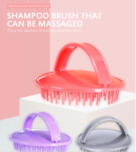 Scalp Brush Shampoo Massage Comb Shower Head Hair Washing Massager Soft