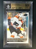 2018-19 Upper Deck Oskar Lindblom Young Guns Rookie BGS 9.5