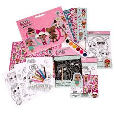 LOL SURPRISE ART AND CRAFTS COLOURING PAINTING STICKER BOOKS FUN GIRLS XMAS TOY
