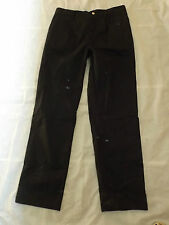 NEW LOCKHART CATERING EXECUTIVE CHEFS GOOD QUALITY BLACK TROUSERS Q1026 W26 L32
