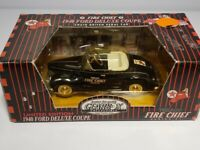 1940 Ford Deluxe Coupe  TEXACO FIRE CHIEF  Gearbox Limited Edition NEW - Vintage