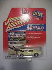 Johnny Lightning Best of Car Covers 1967  White Lightning 1967 Ford Mustang