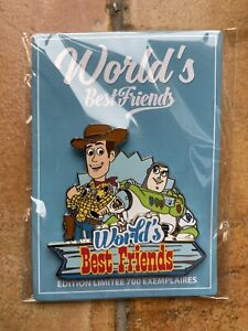 PIN DISNEY DLP PARIS BEST FRIEND Buzz and Woody Toy Story LE 700 limited