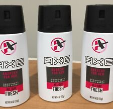 Axe Daily Fragrance Anarchy for Her 4 oz, 3 Cans