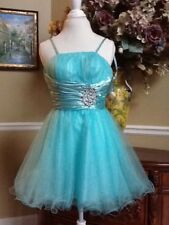 Dancing Queen Prom Formal  Dress Tiffany Blue XS ❤️ With Tags