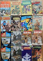 Vintage Bulk Lot Mixed Comic Books Rare Collection Random Bundle X16 Disney Etc